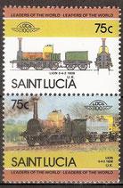 720 -721 postfirsch (St. Lucia Eisenbahn)