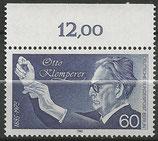 BERL 739   postfrisch mit Bogenrand oben (RWZ 12,00)
