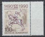 BRD 1445 postfrisch mit Bogenrand rechts