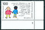 1682 postfrisch Eckrand rechts unten (BRD)