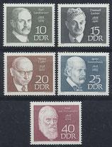 DDR 1386-1390 postfrisch