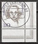 1939 gestempelt Eckrand rechts unten (BRD)