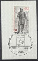 BERL 569  gestempelt mit Ersttagssonderstempel