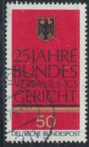 879 gestempelt (BRD)