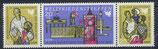 DDR 1478-1480 postfrisch Dreierstreifen