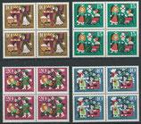 BRD 447-450 postfrisch Viererblock