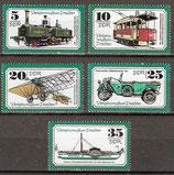 2254-2258 postfrisch (DDR)