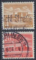 BERL 112-113 gestempelt