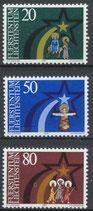 831-833  postfrisch (LIE)