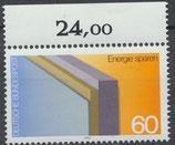 BRD 1119 postfrisch mit Bogenrand oben (RWZ 24,00)