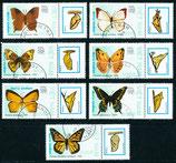 1991-1997 gestempelt (VT-Schmetterlinge)