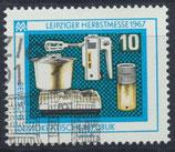 DDR 1306  philat. Stempel