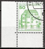 BERL 615 gestempelt Eckrand links unten