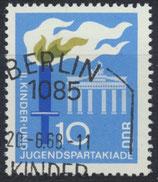 DDR 1375  philat. Stempel