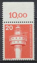 BERL 496 postfrisch mit Bogenrand oben (RWZ 10,00)