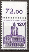 675 A postfrisch mit Bogenrand oben (RWZ 72,00) (BERL)