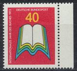 BRD 740 postfrisch mit Bogenrand rechts