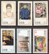 1262-1267 postfrisch (DDR)