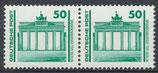 DDR 3346 postfrisch waagrechtes Paar
