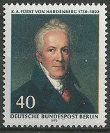 BERL 440  postfrisch
