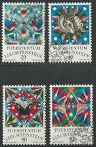 LIE 658-661   gestempelt