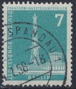 BERL 142  gestempelt