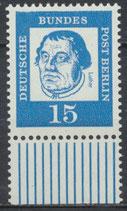 203 postfrisch Bogenrand unten (BERL)
