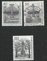 BERL 634-636 gestempelt