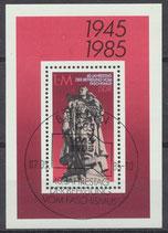 DDR Block 82, 2945 gestempelt