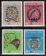 1176-1179 postffrisch (CH)