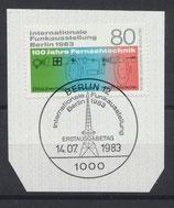 BERL 702 mit Ersttagsonderstempel