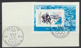 DDR Block 90 gestempelt (2) auf Briefstück