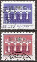 BRD 1210-1211 gestempelt