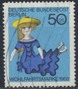 BERL 325 gestempelt