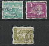 BERL 121-123 gestempelt