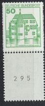 BRD 1038 R postfrisch Dreierstreifen