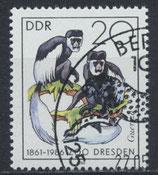DDR 3020  philat. Stempel
