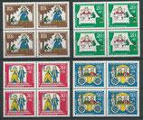 BRD 523-526 postfrisch Viererblocksatz