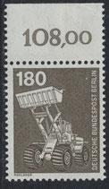 BERL 585 postfrisch mit Bogenrand oben