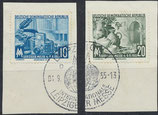 DDR 479-480 gestempelt auf Briefstück