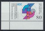 BRD 1471 postfrisch mit Eckrand links unten