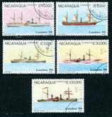 2978-2983 gestempelt (NI-Schiffe)