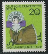 323  postfrisch  (BERL)