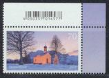 BRD 3344 postfrisch mit Eckrand rechts oben