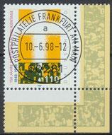 1995 gestempelt Eckrand rechts unten (BRD)