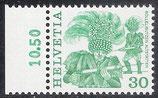 CH 1241 postfrisch mit Seitenrand links