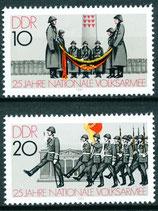 2580-2581 postfrisch (DDR)