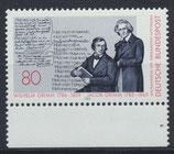 BRD 1236 postfrisch mit Bogenrand unten
