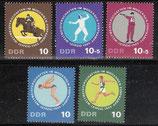 1133-1137  postfrisch (DDR)