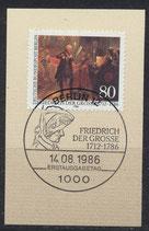 BERL 764 mit Ersttagsonderstempel